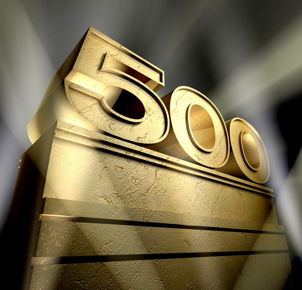 minimaal 500 prospects